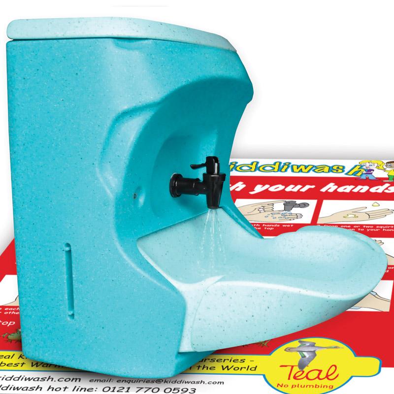Kiddiwash Xtra mobile sinks for children