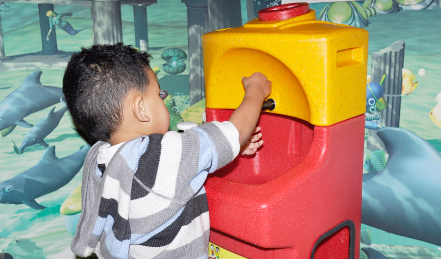 Why more hand washing is needed in indoor play areas