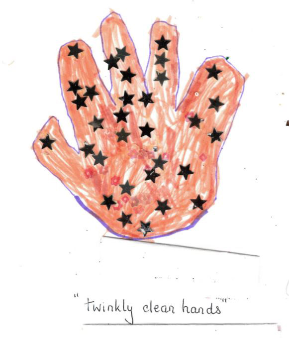 Winner: Roxwell Pre-school - hand by Lacey