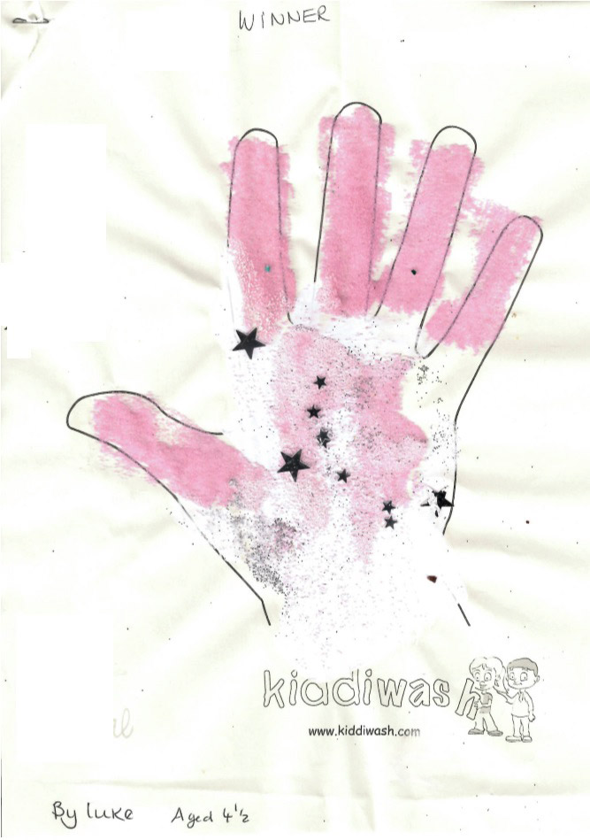 Winner: Tweenies Pre-school - hand by Luke