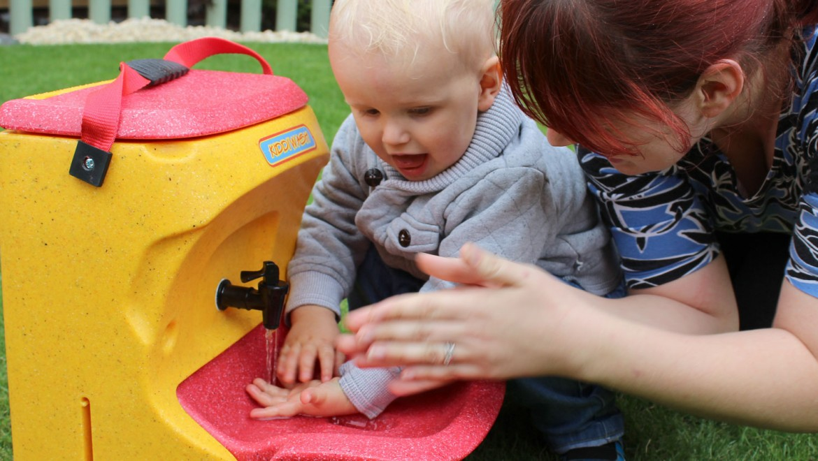 Back to school – the importance of hand washing