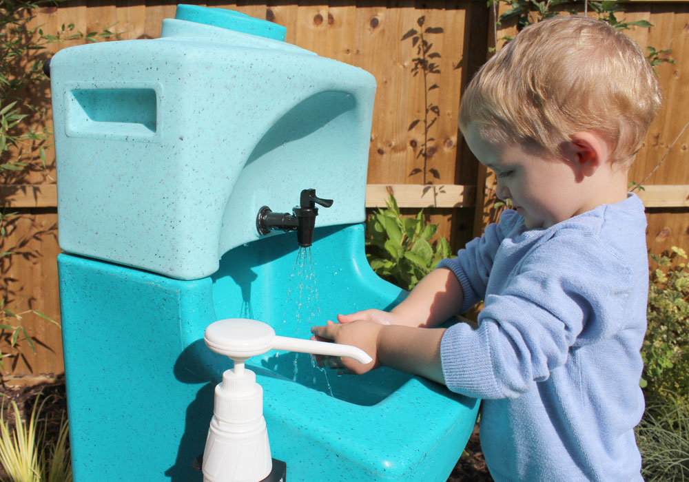 KiddiSynk portable sinks for childrens hand washing