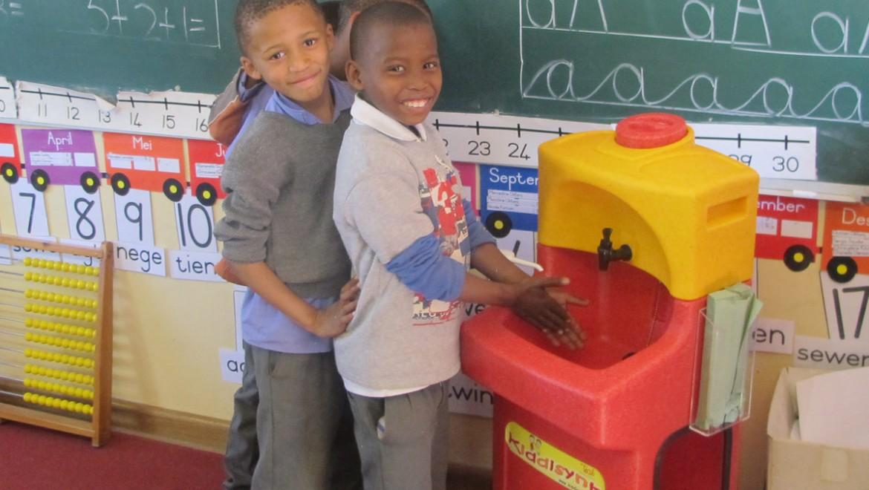Teach children to wash their hands regularly – it saves life!