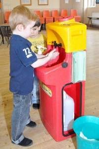 KiddiSynk portable sinks at Childcare Expo Coventry