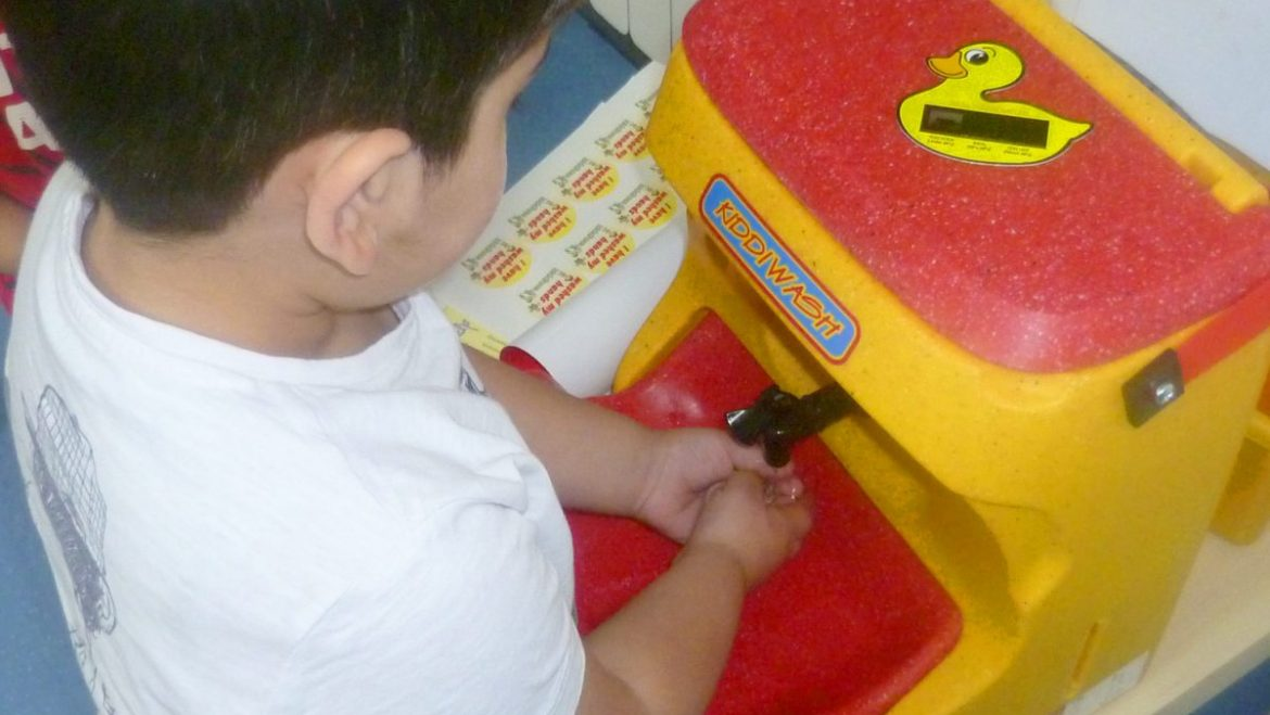Health watchdog – toddlers must be taught to wash hands