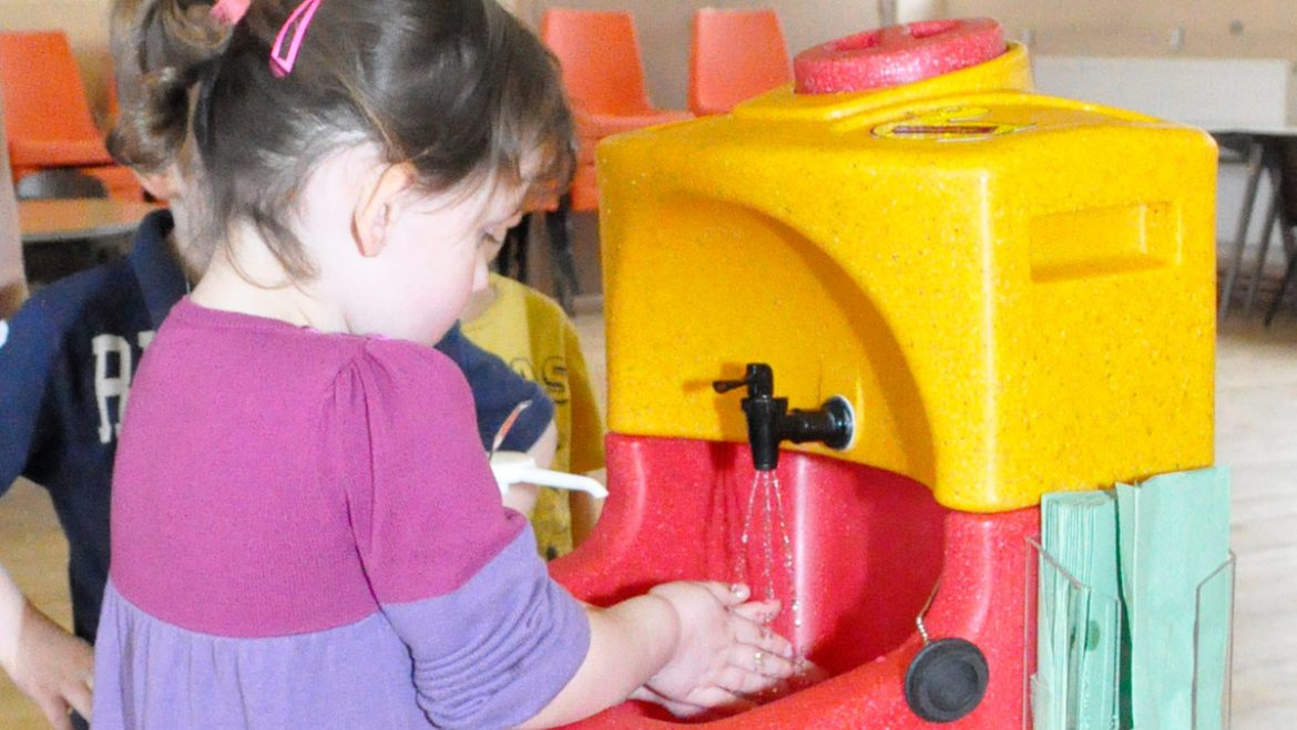 Norovirus – why washing with soap and water is essential in class