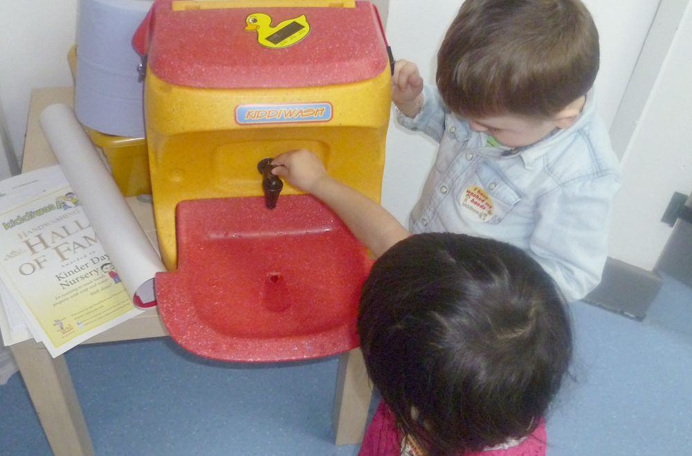 "Hand washing helps children ""beat the bad bugs"""