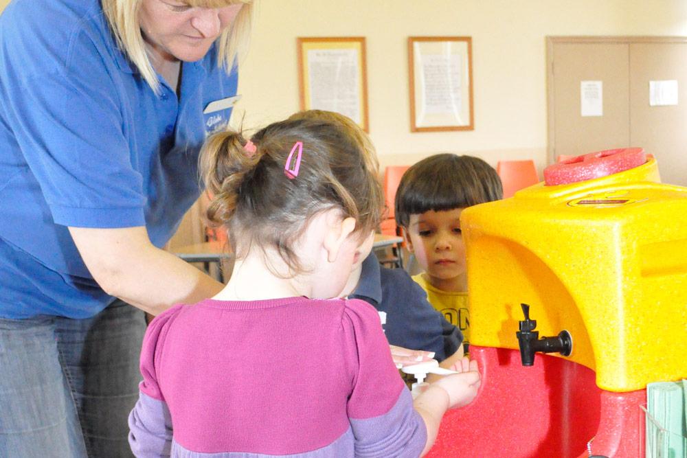 Teach children how to wash their hands on Global Handwashing Day!