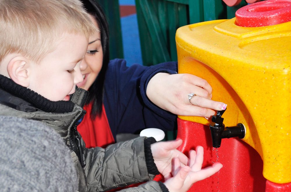 Soap and water hand washing NOT gels on farm visits advises County Council