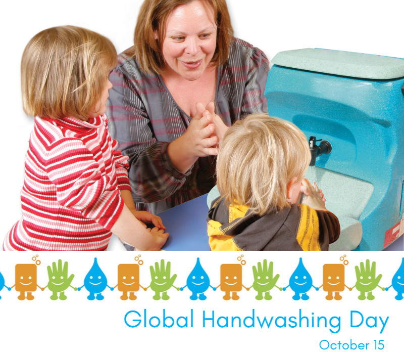 Get the kids involved in Global Handwashing Day with these free teaching resources