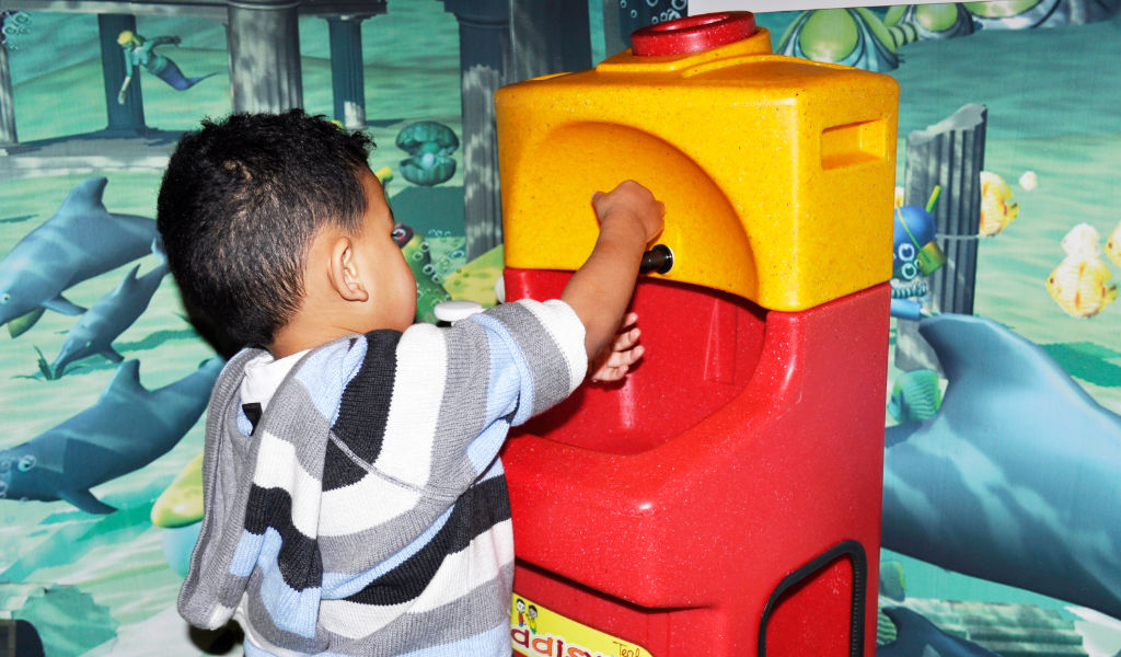 """Why it's important to get kids into a """"handwashing routine"""""""